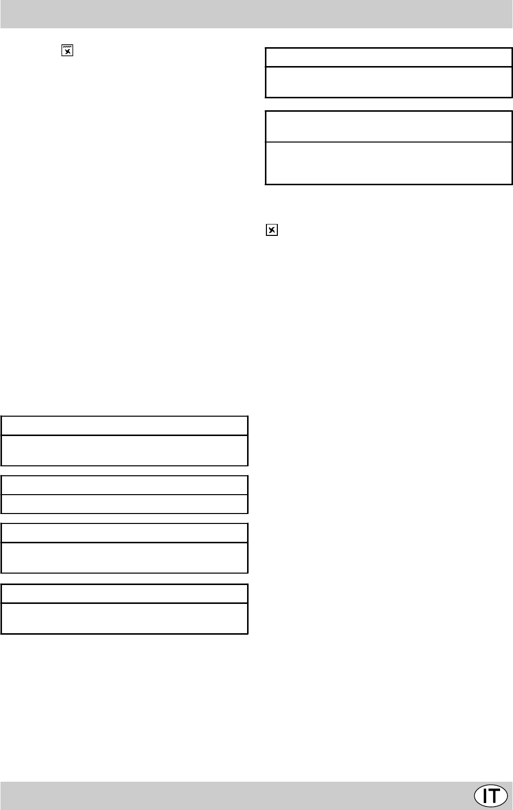 Handleiding Ariston Fm 54 T Pagina 25 Van 42 English Espan L  # Muebles Plasticos Riduco