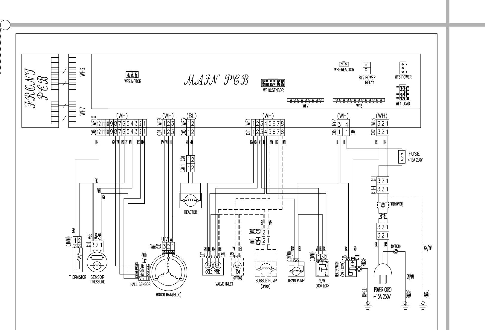 handleiding daewoo dwd fd1411  pagina 41 van 42   english