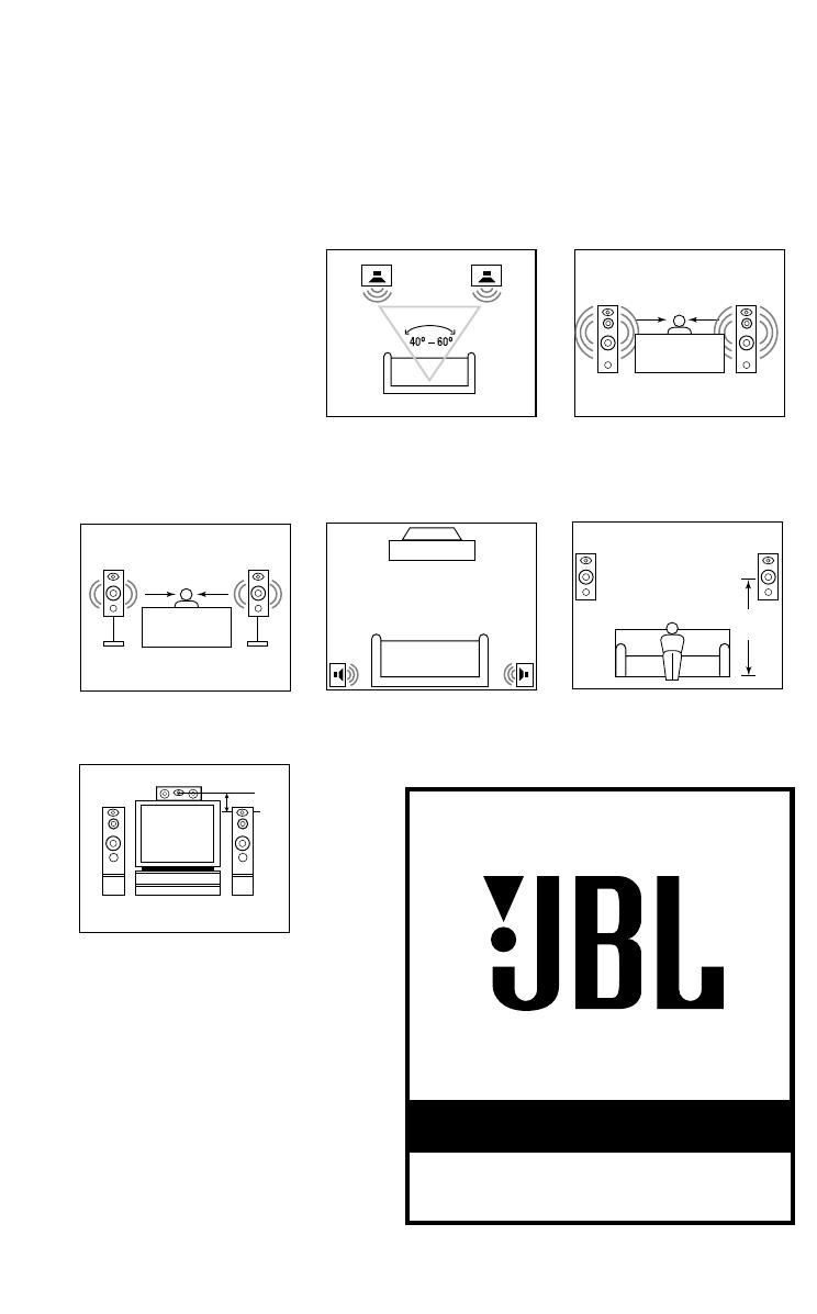 JBL northridge e80 zwart