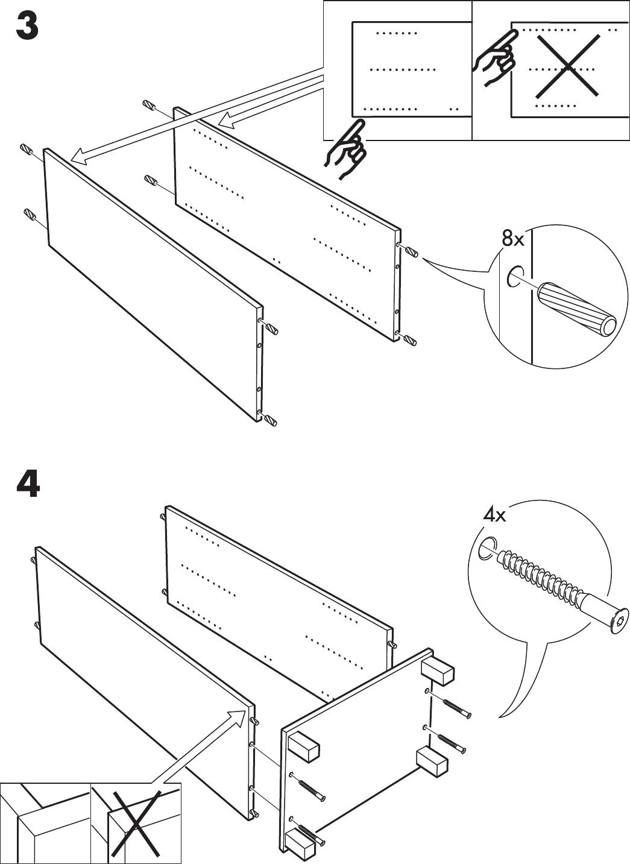 Handleiding Ikea Aneboda Kast Pagina 5 Van 12 Nederlands