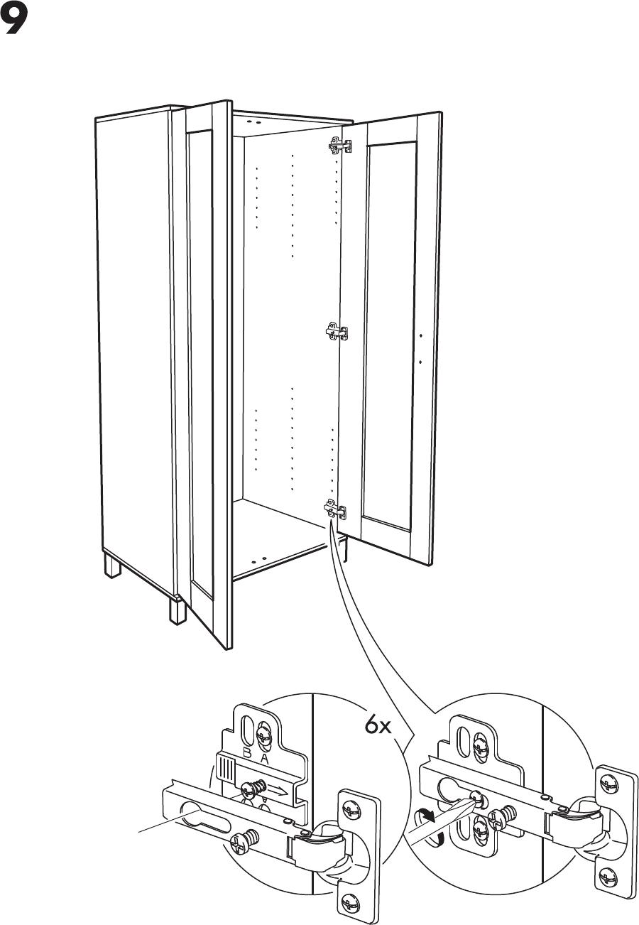 Handleiding Ikea Aneboda Kast Pagina 8 Van 12 Nederlands