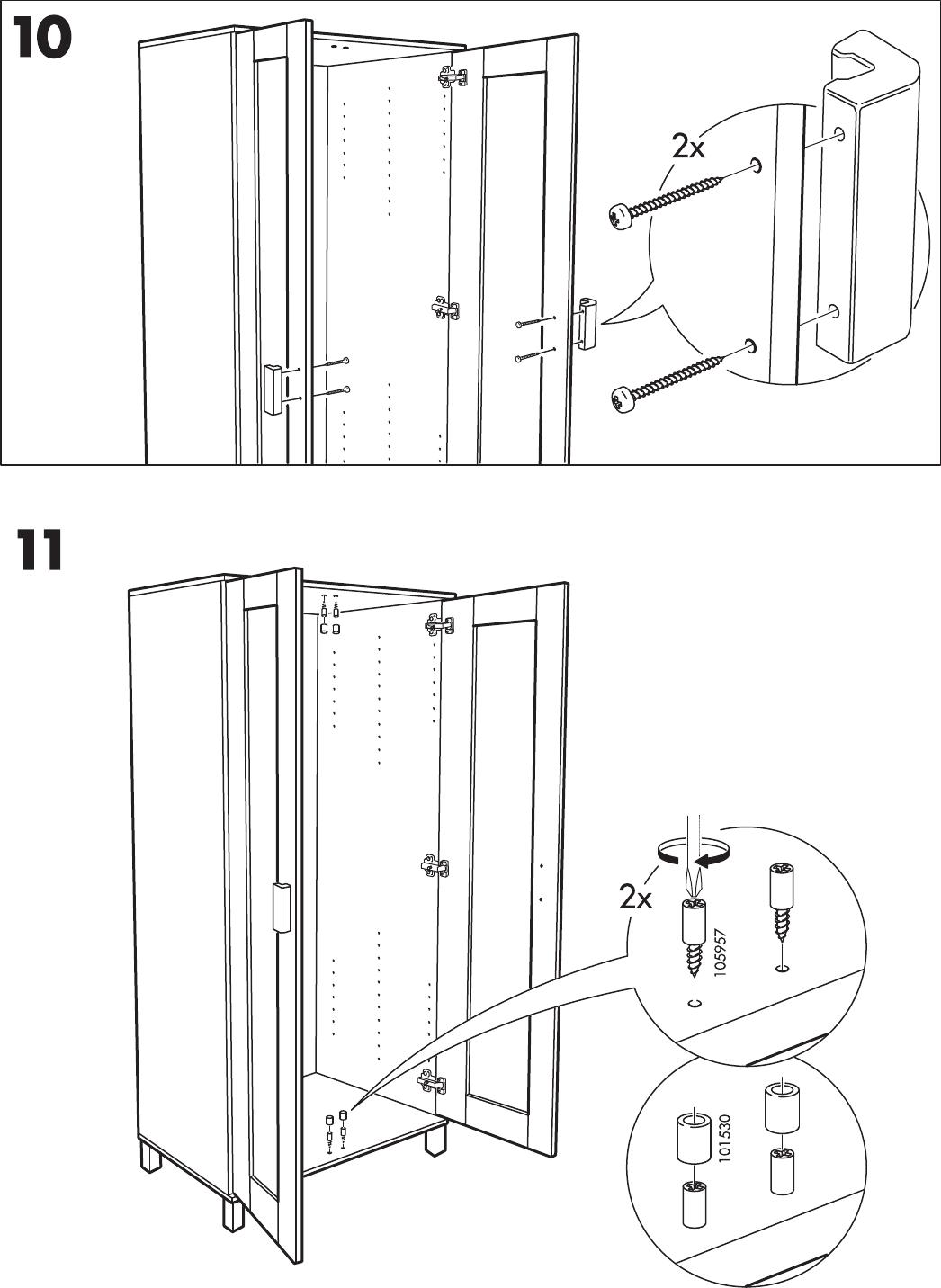 Handleiding Ikea Aneboda Kast Pagina 11 Van 12 Nederlands