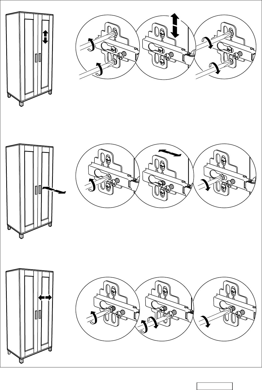 Handleiding Ikea Aneboda kast (pagina 12 van 12) (Nederlands)