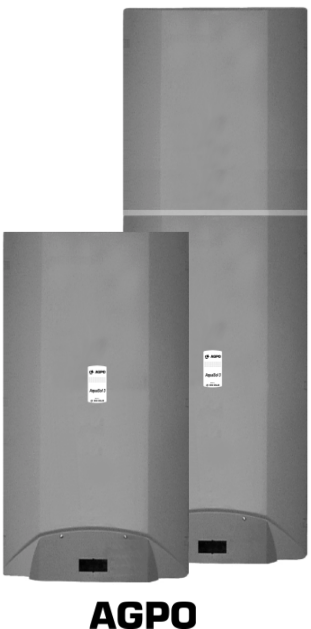 Ongebruikt Handleiding Agpo Ferroli AquaSol 3 (pagina 1 van 31) (Nederlands) DH-52