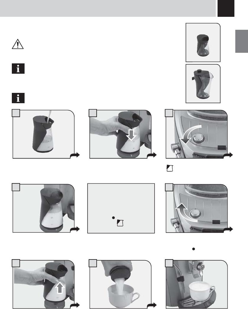 handleiding saeco talea ring plus pagina 19 van 36 nederlands. Black Bedroom Furniture Sets. Home Design Ideas