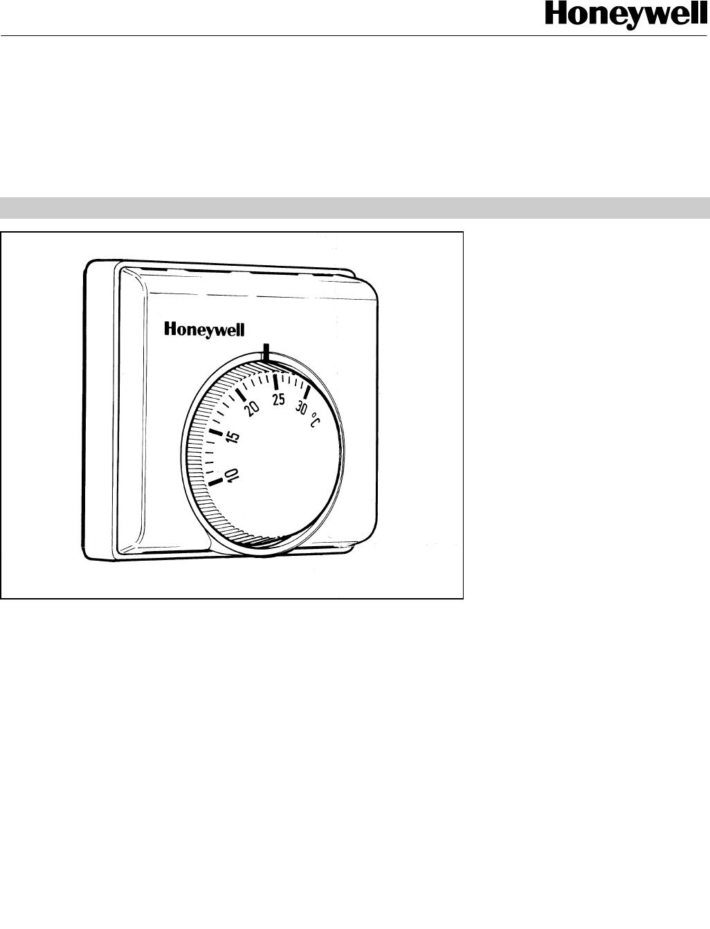 Wiring Honeywell T6360 Room Thermostat