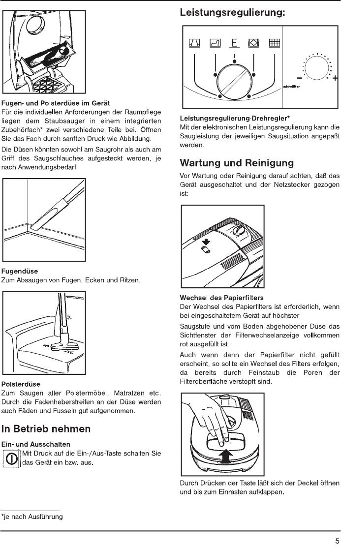Handleiding AEG VAMPYR 5 (pagina 1 van 80) (Dansk, Deutsch, English ...