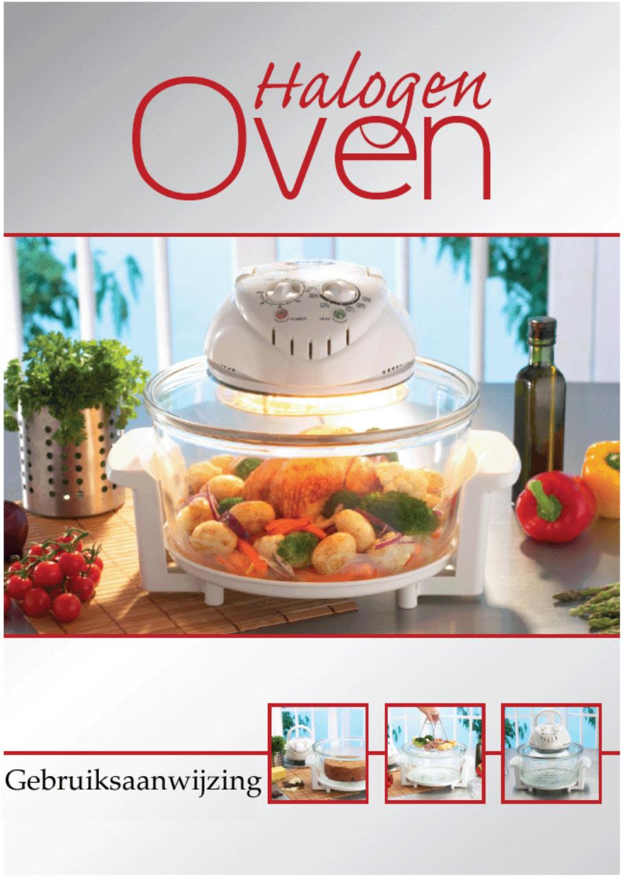 Handleiding Tellsell Halogen oven recepten (pagina 1 van ...
