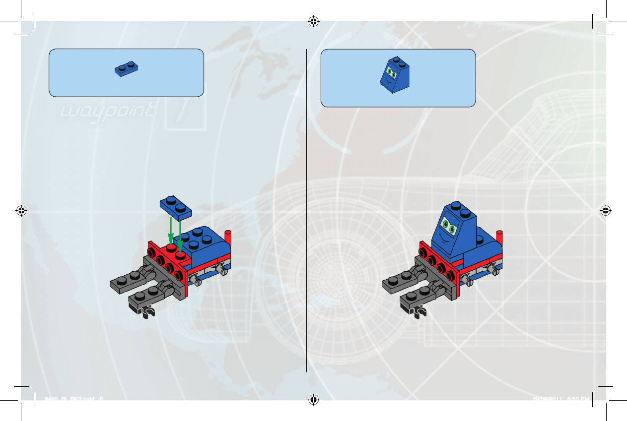 Handleiding Lego Cars Tm Ultimate Race Set 9485 Pagina 1 Van 24 1x