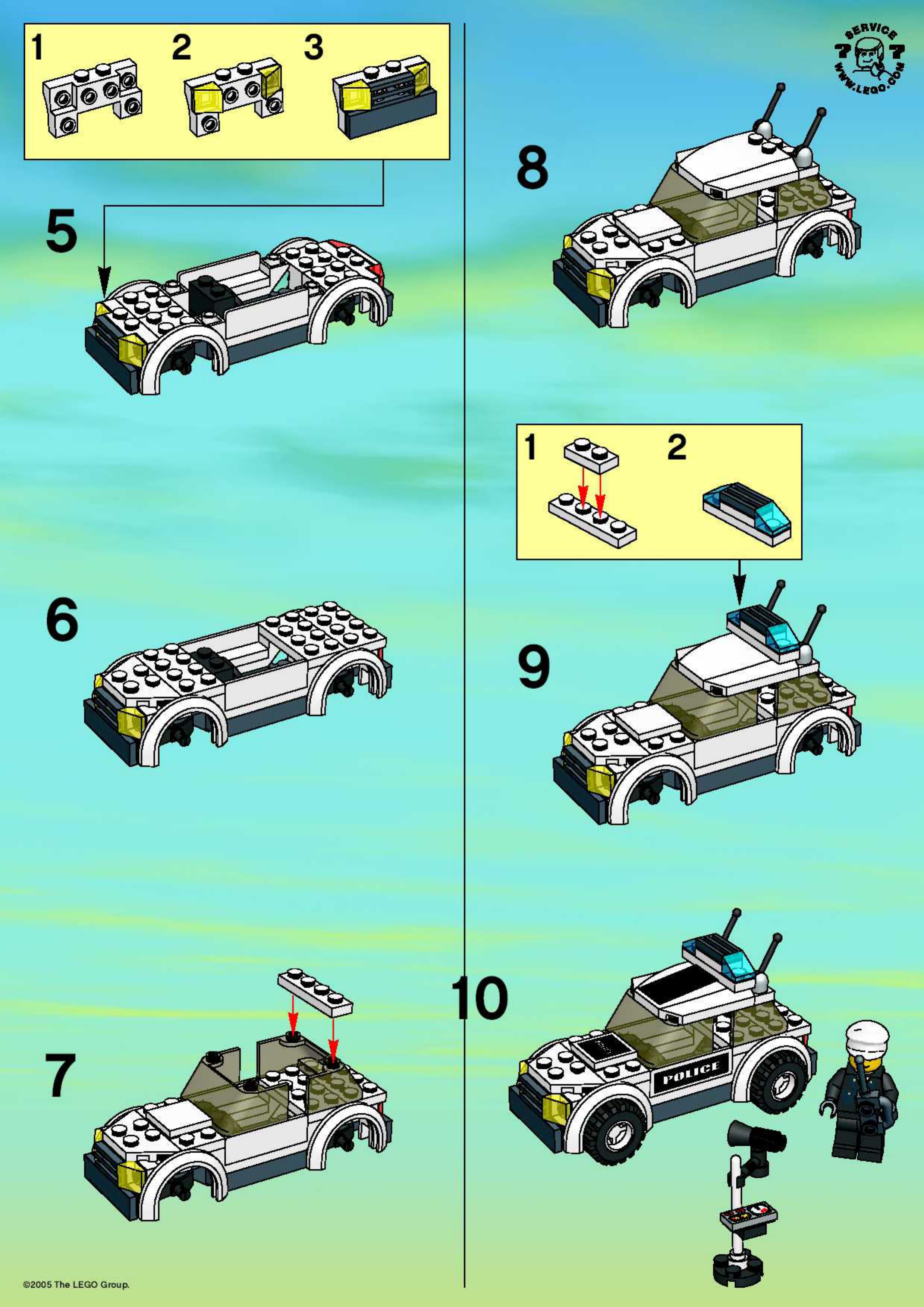 Как сделать из лего джип конструкция