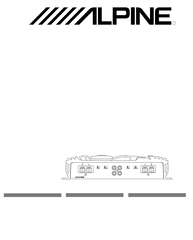 handleiding alpine mrv 1507  pagina 1 van 24   english