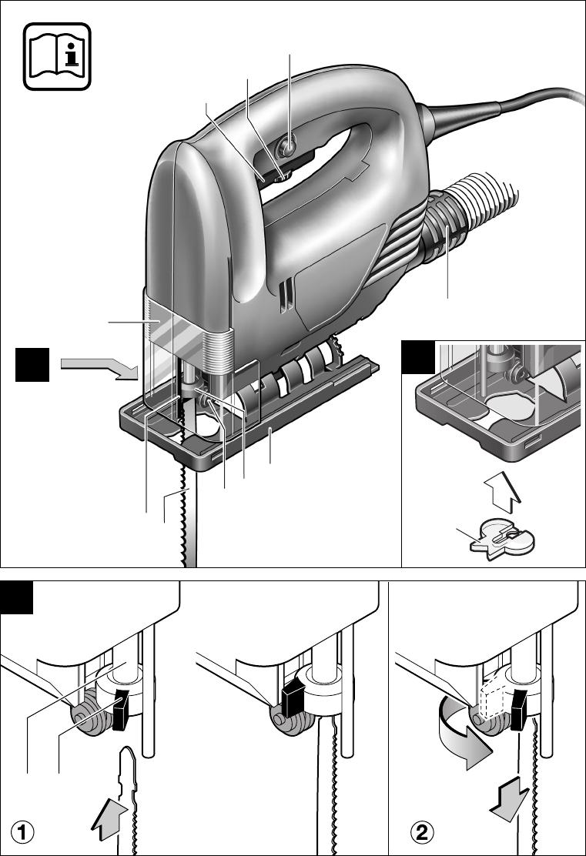 Bekend Handleiding Bosch pst 650 e (pagina 29 van 62) (Dansk, Deutsch WF91