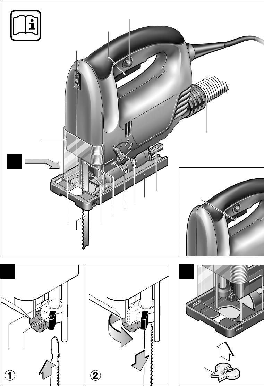 Bekend Handleiding Bosch pst 750 pe (pagina 1 van 72) (Dansk, Deutsch EH93