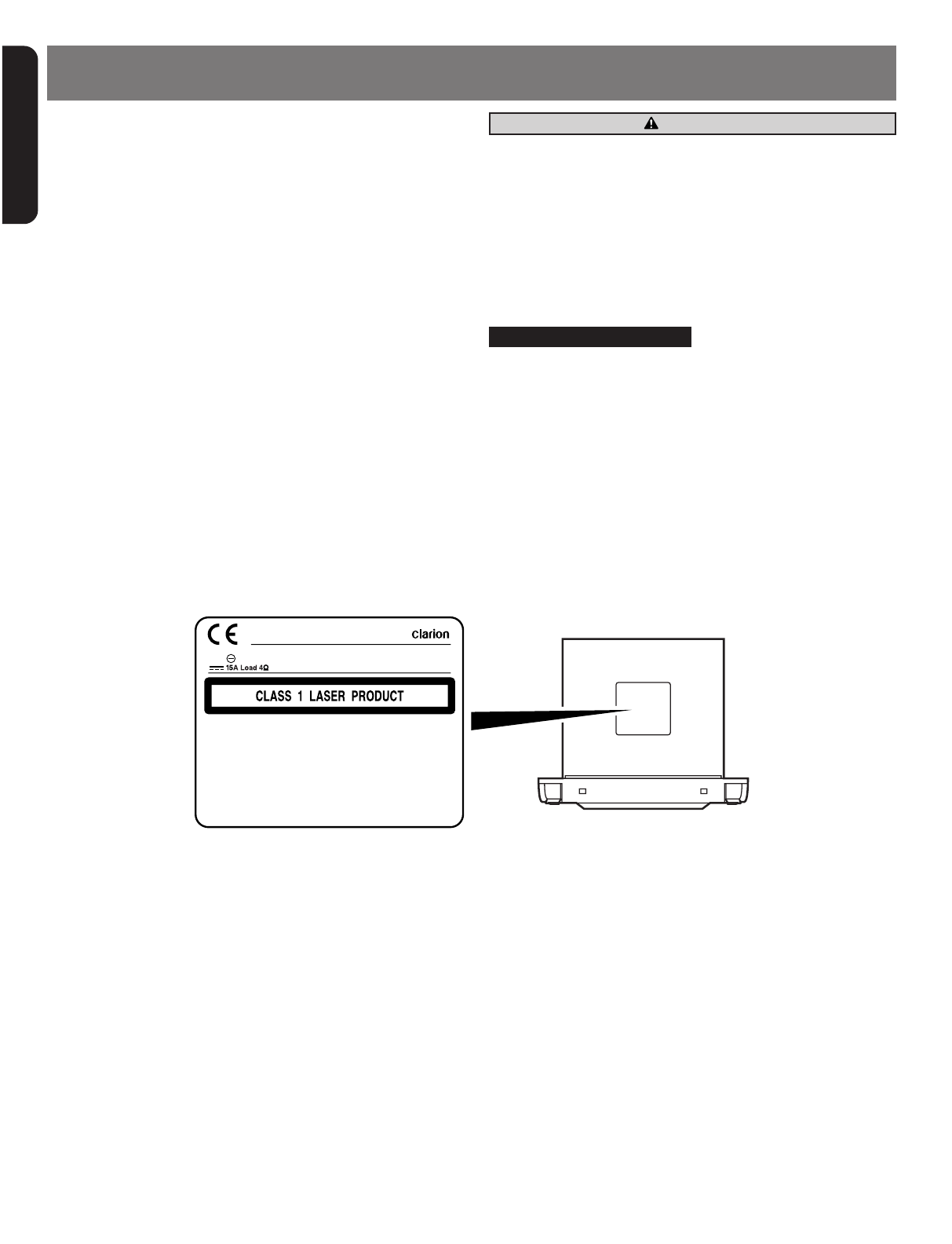 Handleiding Clarion Xmd3 Pagina 1 Van 22 English Wiring Diagram 3