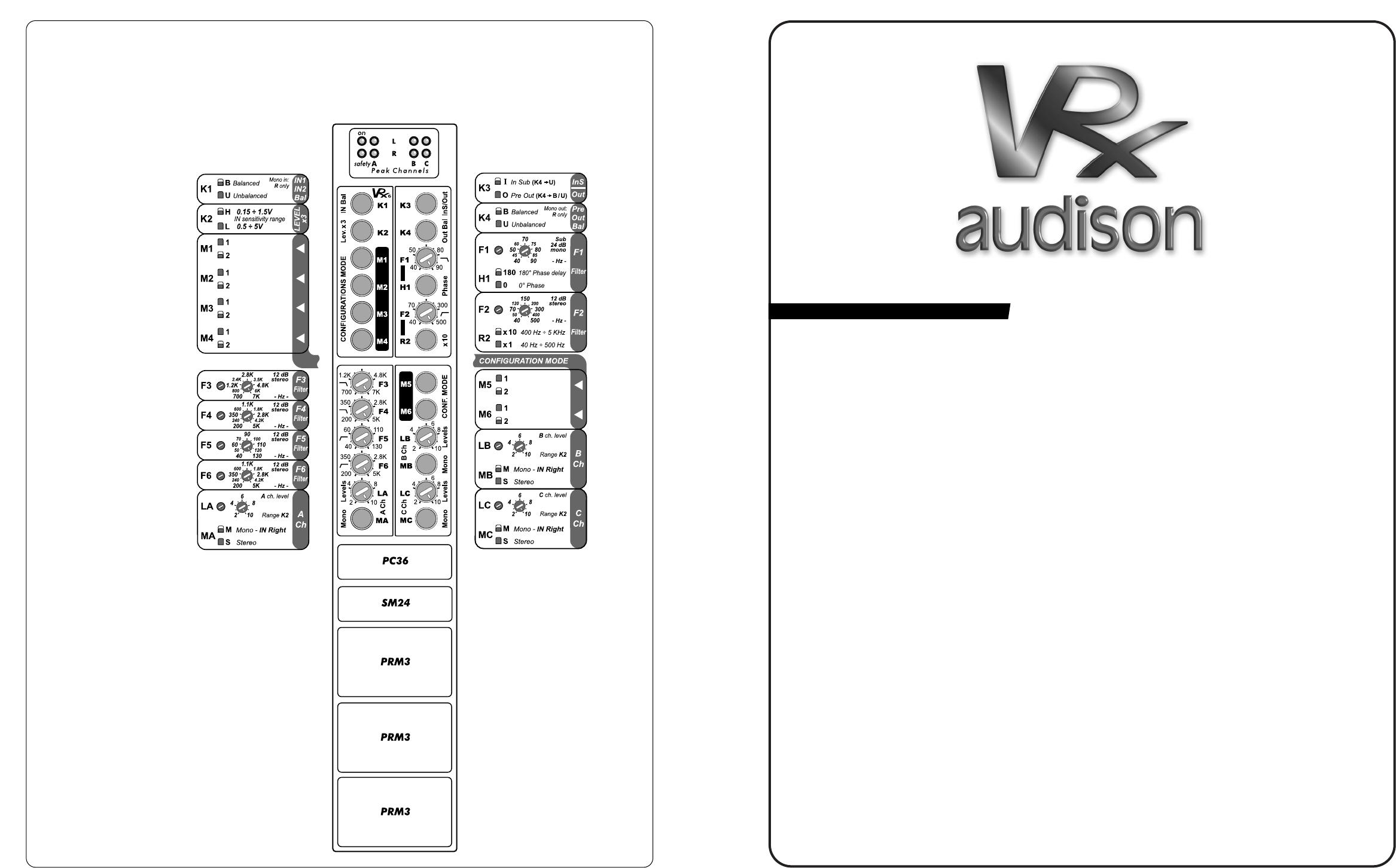 handleiding audison vrx 2 150  pagina 7 van 36   14 38 mb english