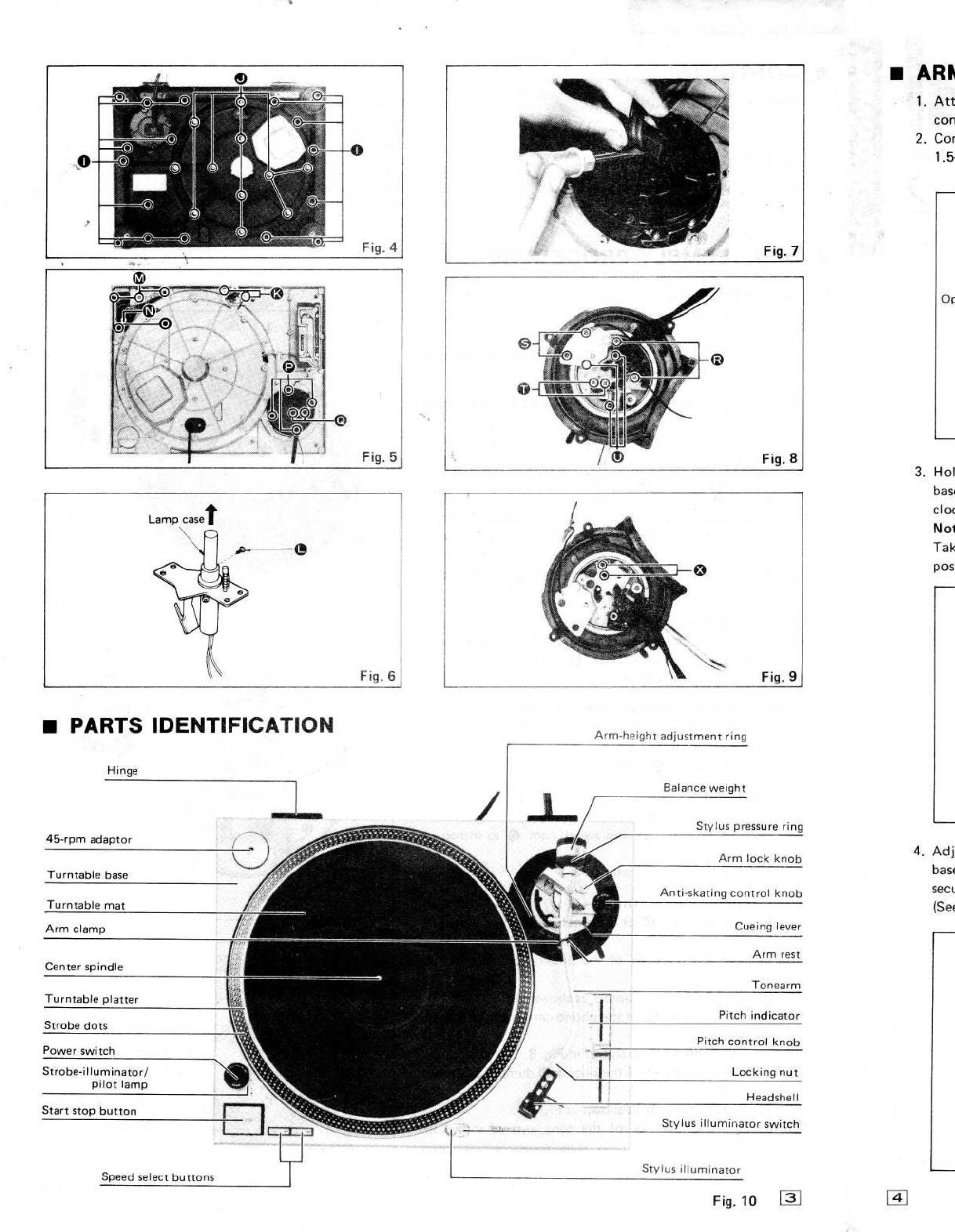 Handleiding Technics sl-1200mk2 (pagina 1 van 20) (English)