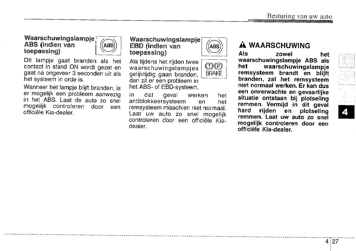 Handleiding Kia Picanto Pagina 117 Van 276 Nederlands
