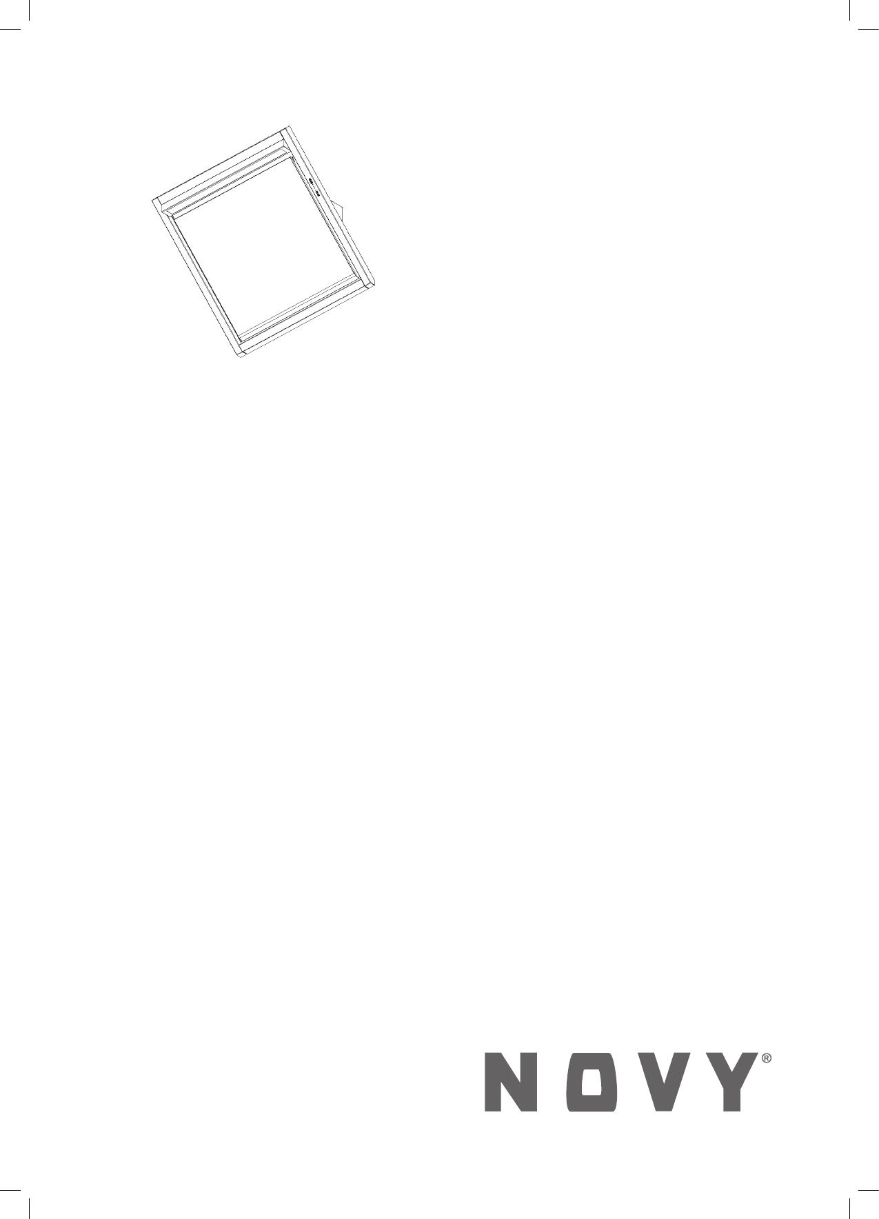 Handleiding Novy 7805 (pagina 12 van 24) (Deutsch, English, Français ...