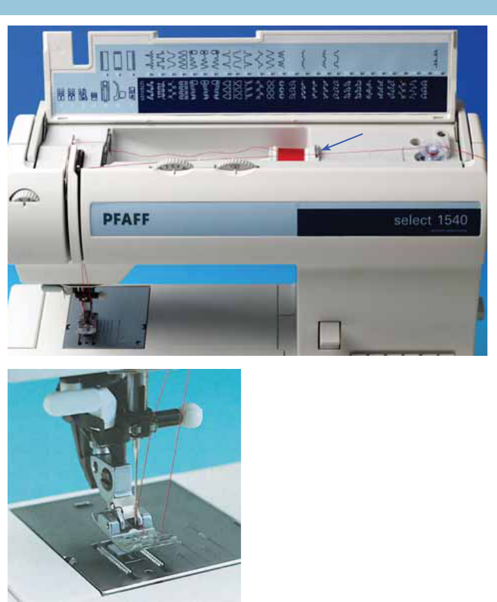 Handleiding Pfaff Select 40 Pagina 40 Van 40 English Enchanting Pfaff 1540 Sewing Machine