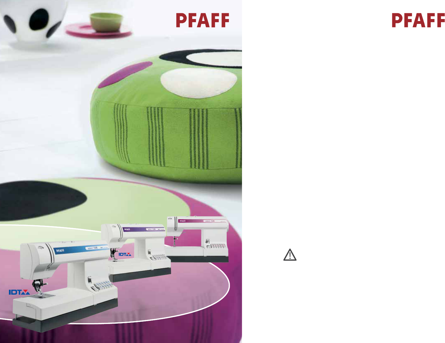 Pfaff Select 1538 Manual Dexterity