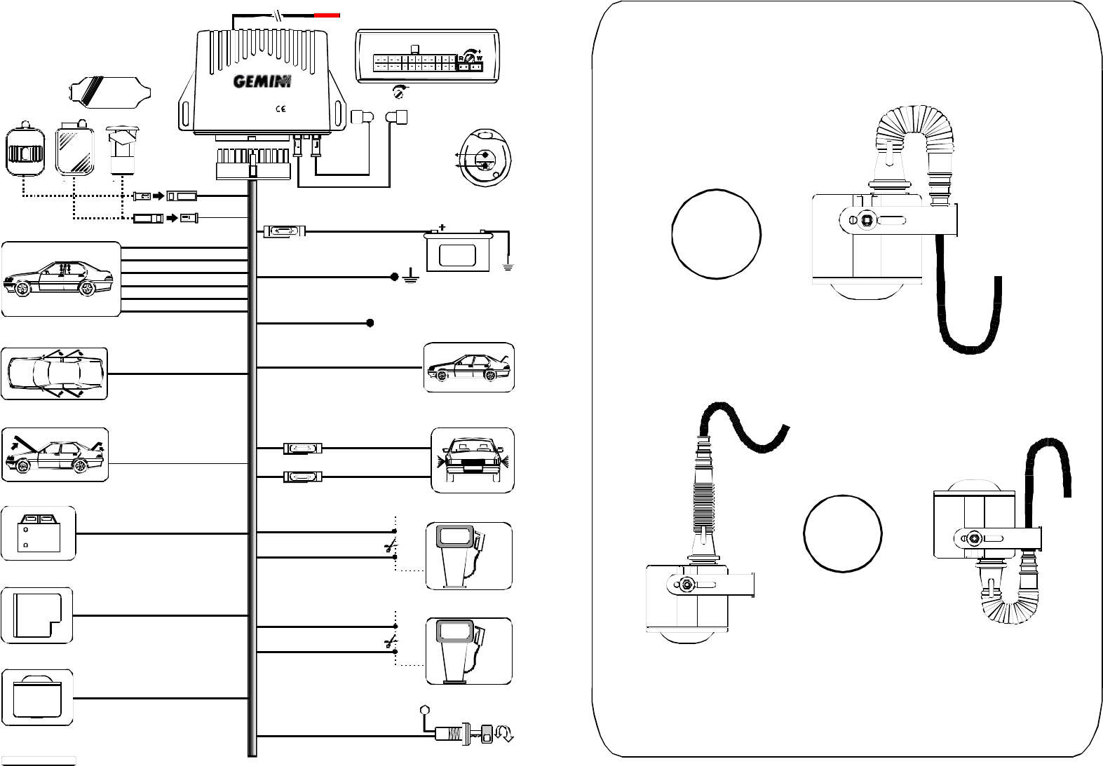 Gemini Alarm System Wiring Diagram on crutchfield wiring gauge