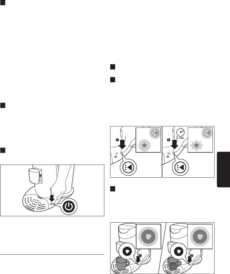 Beroemd Handleiding Philips HD7870 Senseo (pagina 81 van 110) (Dansk KN92