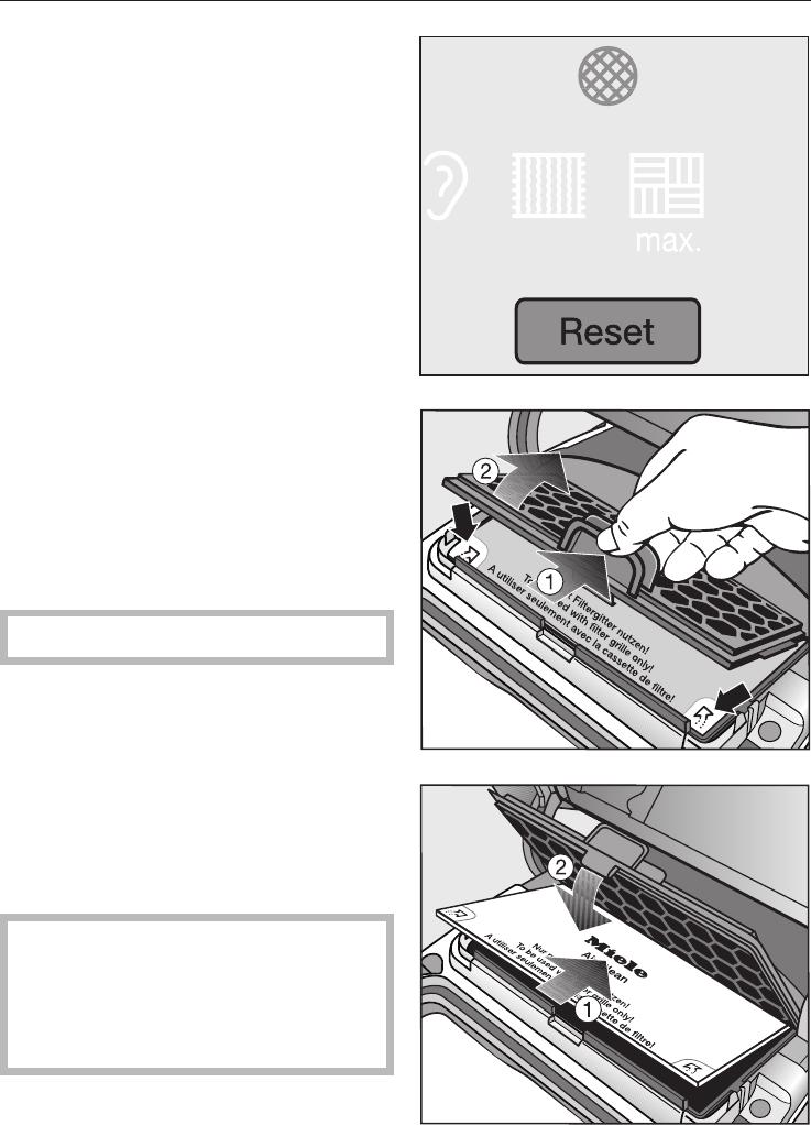 Handleiding Miele S8 (pagina 29 van 40) (Nederlands)