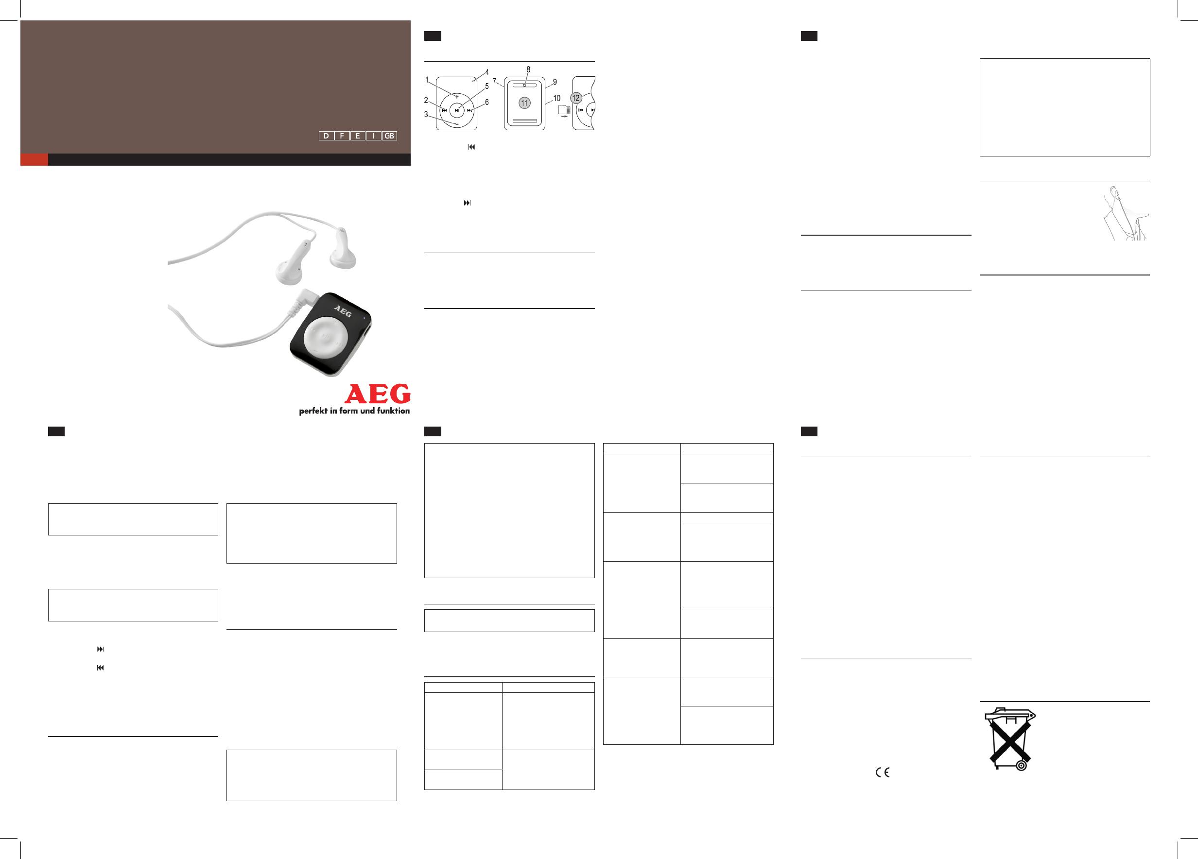 aeg mms 5572 manual