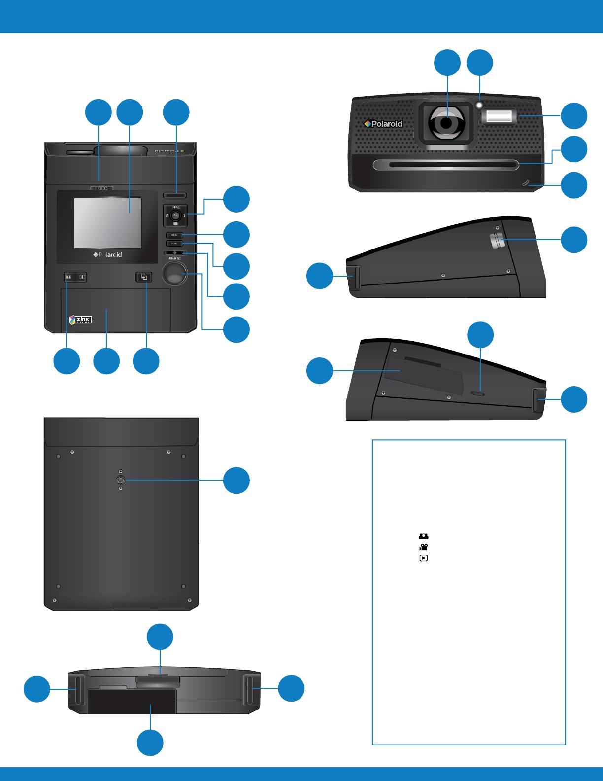 handleiding polaroid z340 pagina 3 van 64 english rh gebruikershandleiding com polaroid z340 manual pdf polaroid z340 manual pdf