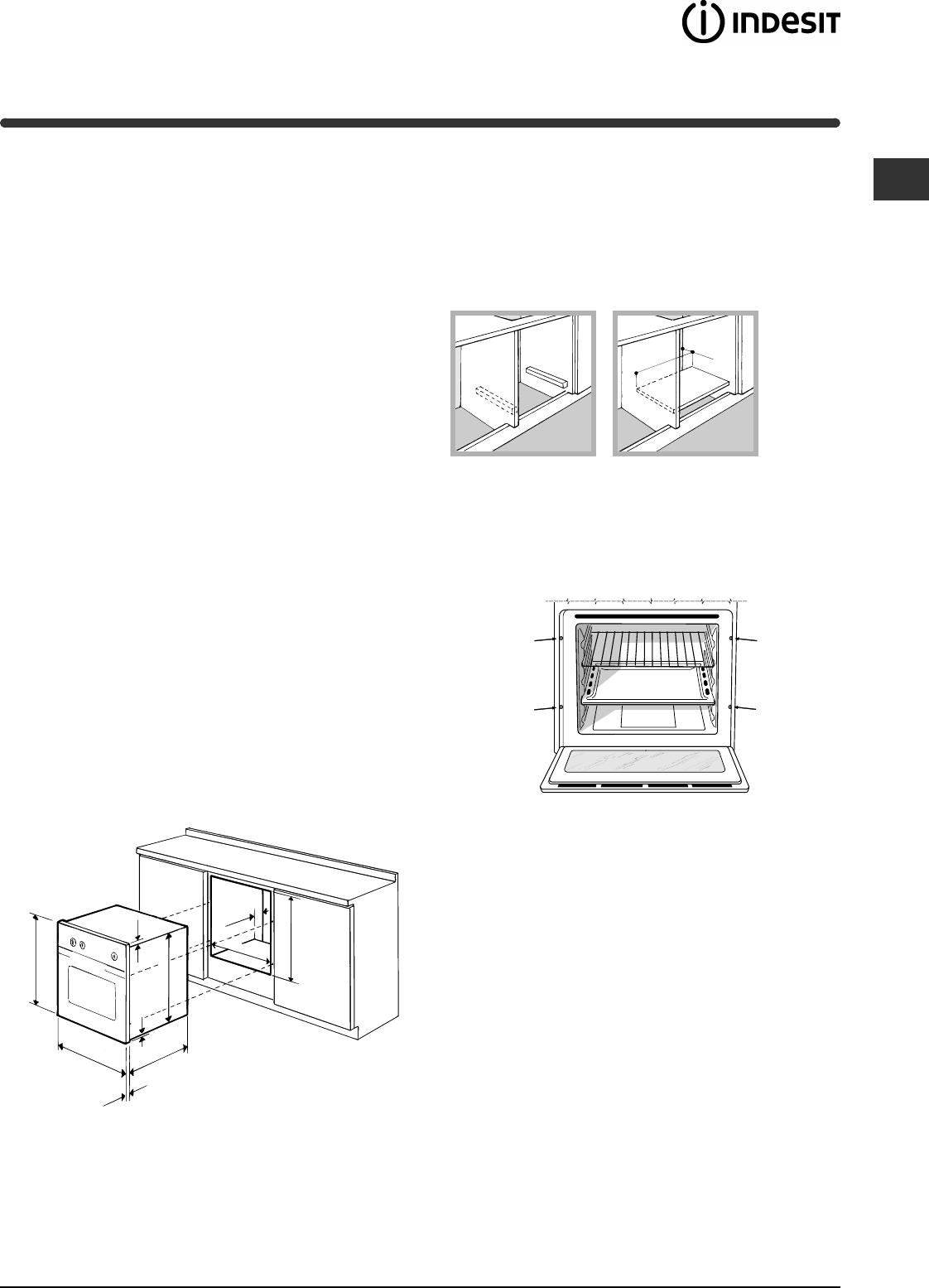 Handleiding Indesit FI 20.B IX (pagina 13 van 72) (Nederlands)