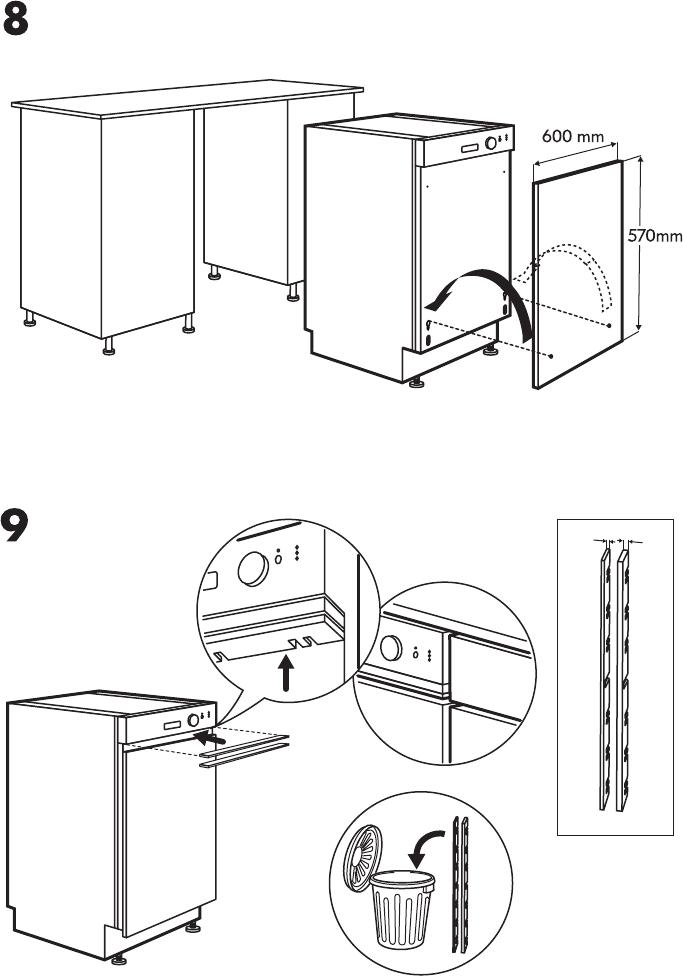 handleiding ikea lagan dw60 pagina 10 van 16 alle talen. Black Bedroom Furniture Sets. Home Design Ideas