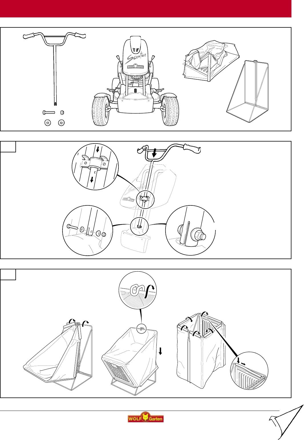 Handleiding WOLF-Garten SV 4 (pagina 13 van 42) (Deutsch