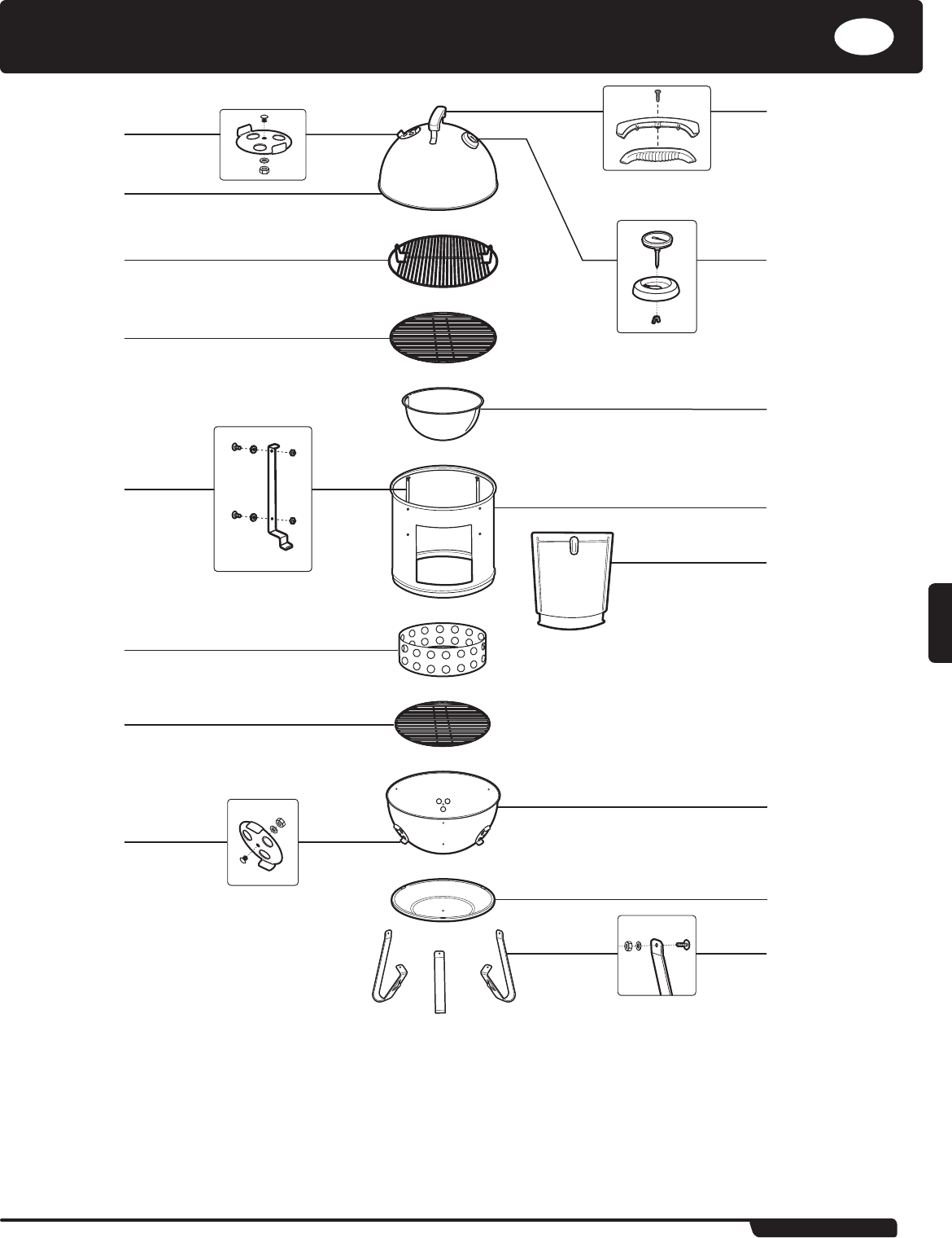 Handleiding Weber Smokey Mountain Cooker (pagina 61 van 140