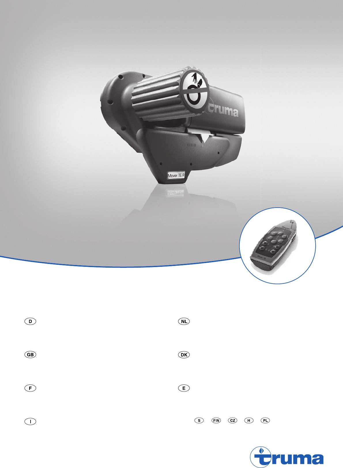 handleiding truma mover mover se r pagina 1 van 84. Black Bedroom Furniture Sets. Home Design Ideas
