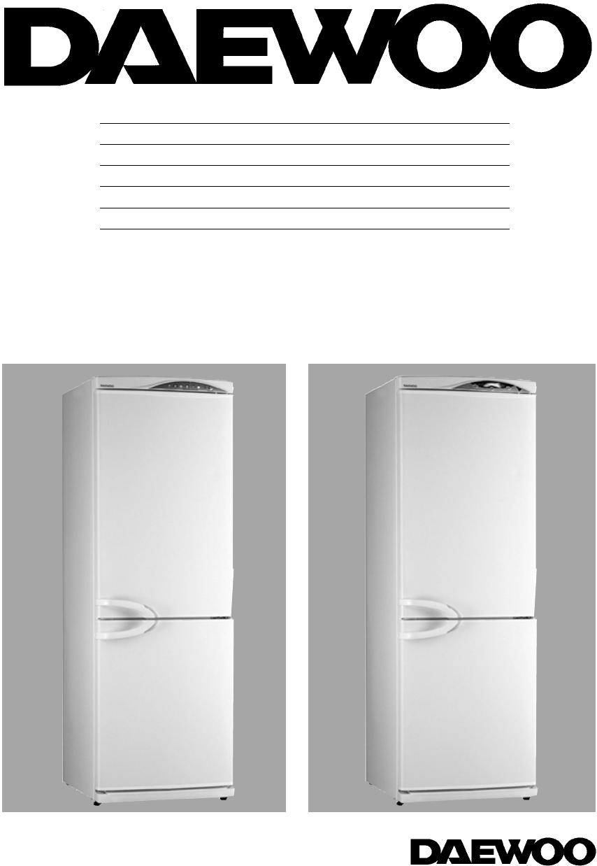 handleiding daewoo erf 411 a pagina 1 van 14 english rh gebruikershandleiding com Daewoo Fridge Self-Defrost How Good Are Daewoo Refrigerators