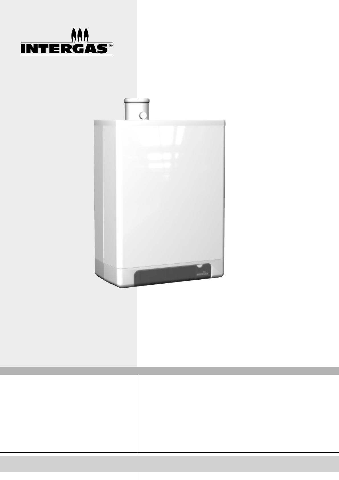 Intergas Kompakt Hr.Handleiding Intergas Hr 36 30 Kombi Kompact Pagina 1 Van 48