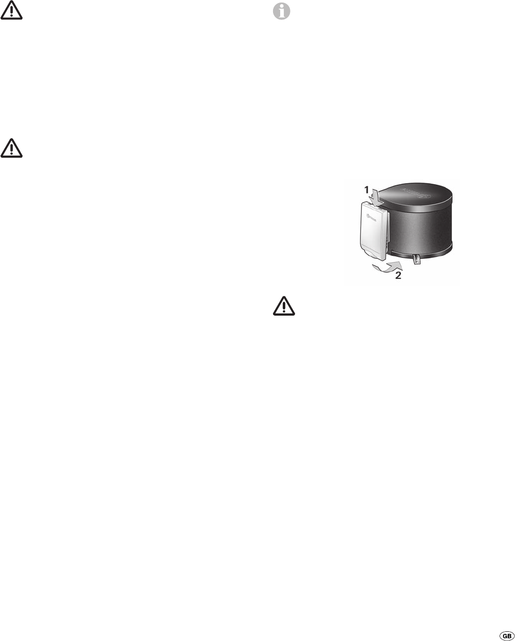 Handleiding Truma B 10 (pagina 8 van 44) (Dansk, Deutsch, English ...