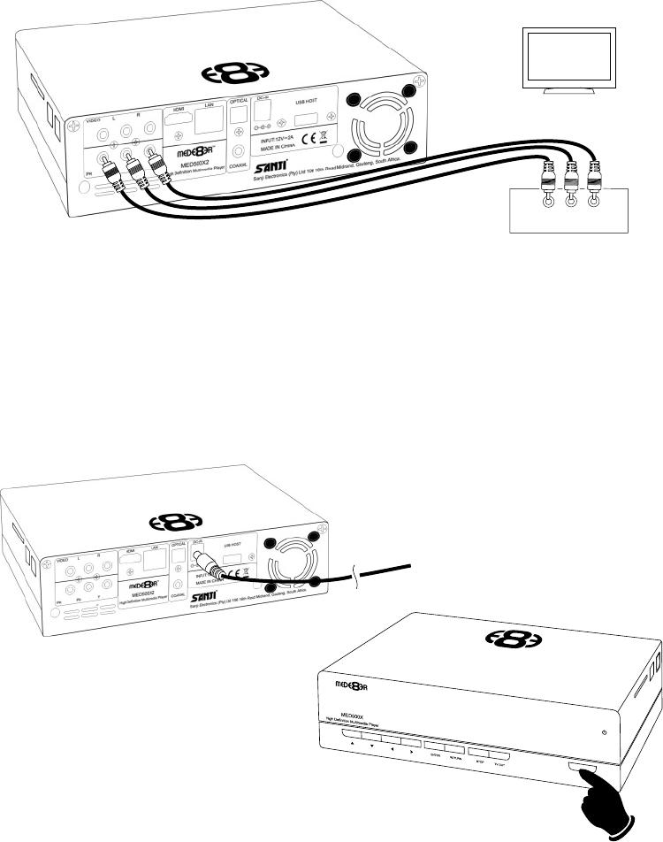 Handleiding Mede8er Med400x2s Pagina 9 Van 36 English