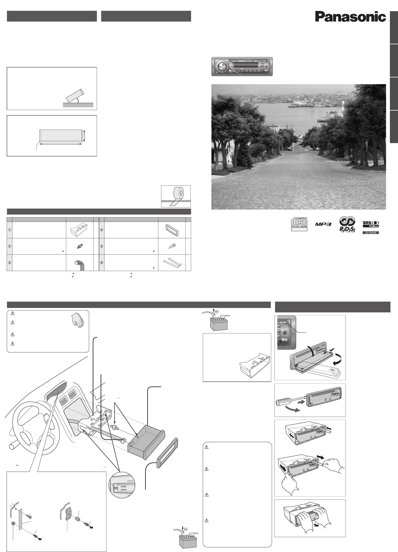 Handleiding Panasonic cq-c3303 (pagina 41 van 42) (Nederlands)