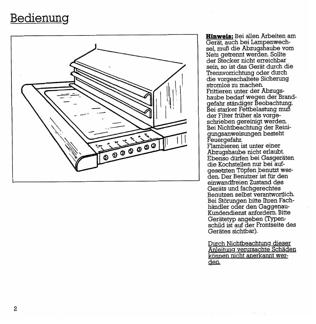Handleiding Gaggenau AH250161 (pagina 4 van 12) (Deutsch)