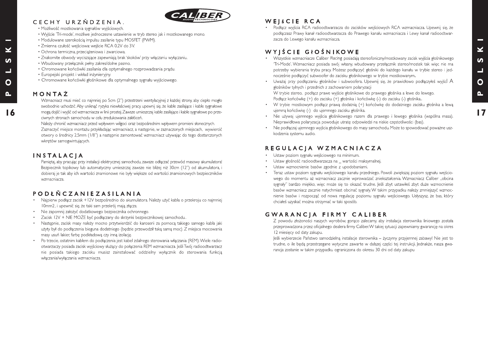 Handleiding Caliber ca 502 (pagina 11 van 12) (Deutsch, English ...