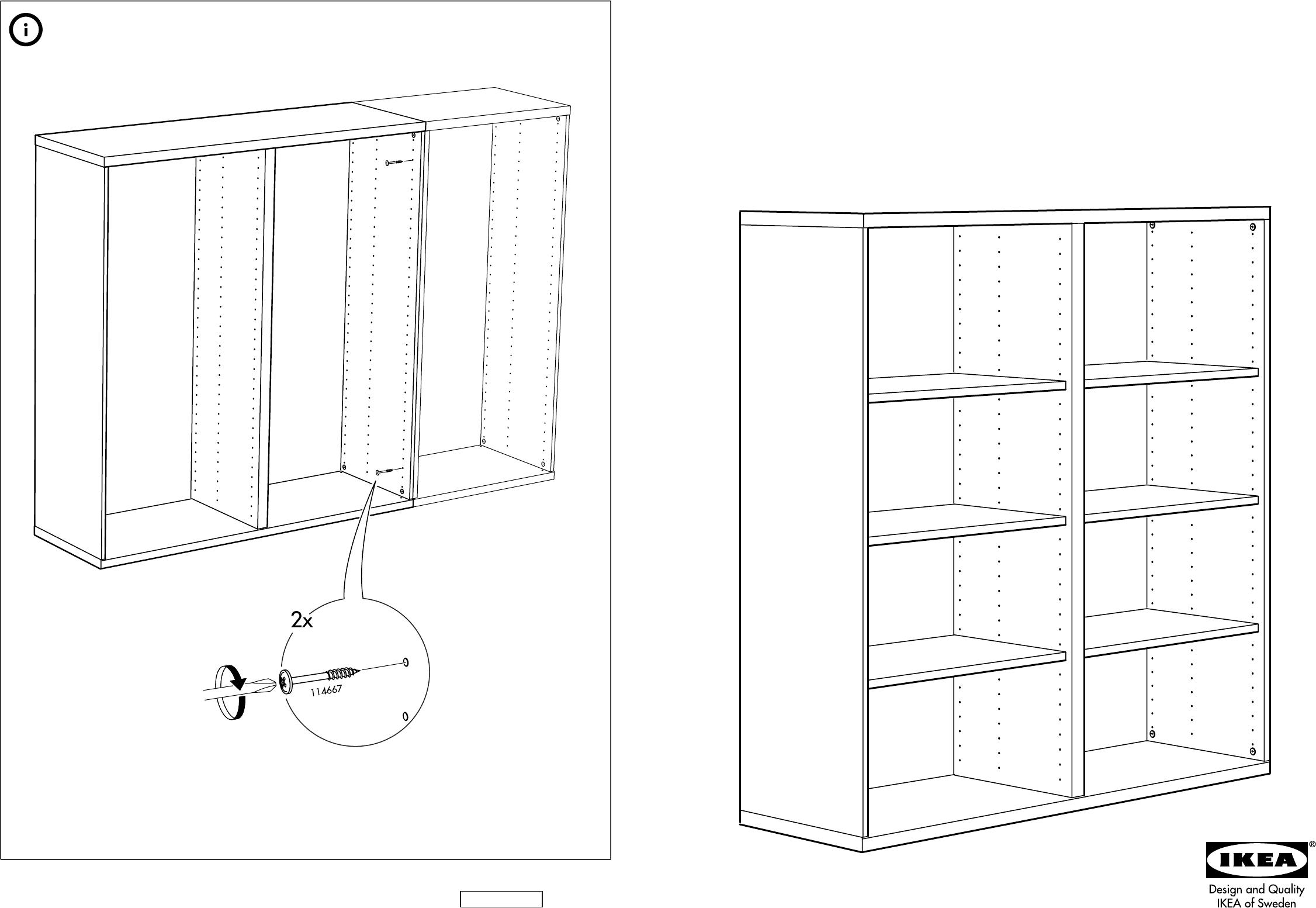 Handleiding Ikea Besta Kast Pagina 1 Van 10 Dansk