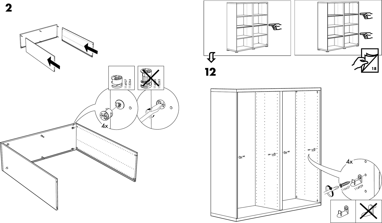Handleiding Ikea Besta Kast Pagina 6 Van 10 Dansk