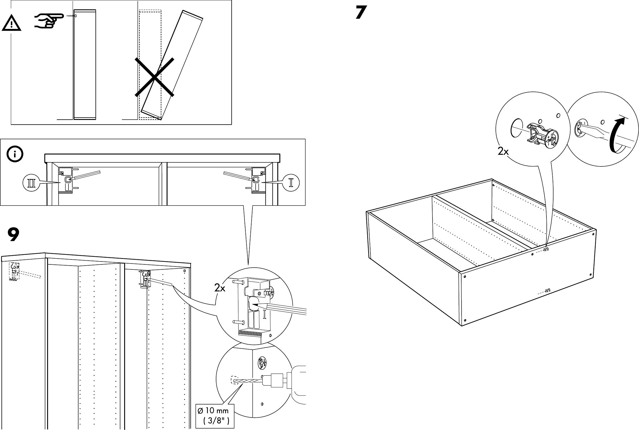 Handleiding Ikea Besta Kast Pagina 8 Van 10 Dansk