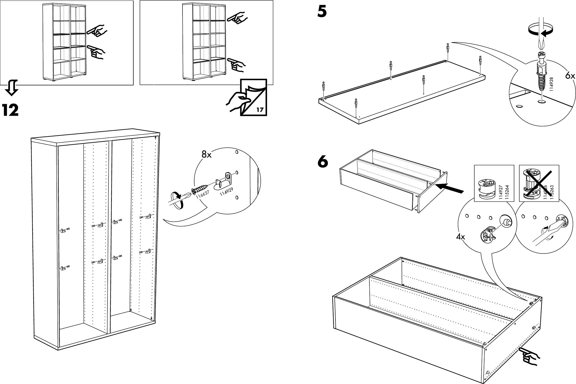 Handleiding Ikea Besta Kast 2 Pagina 7 Van 10 Dansk