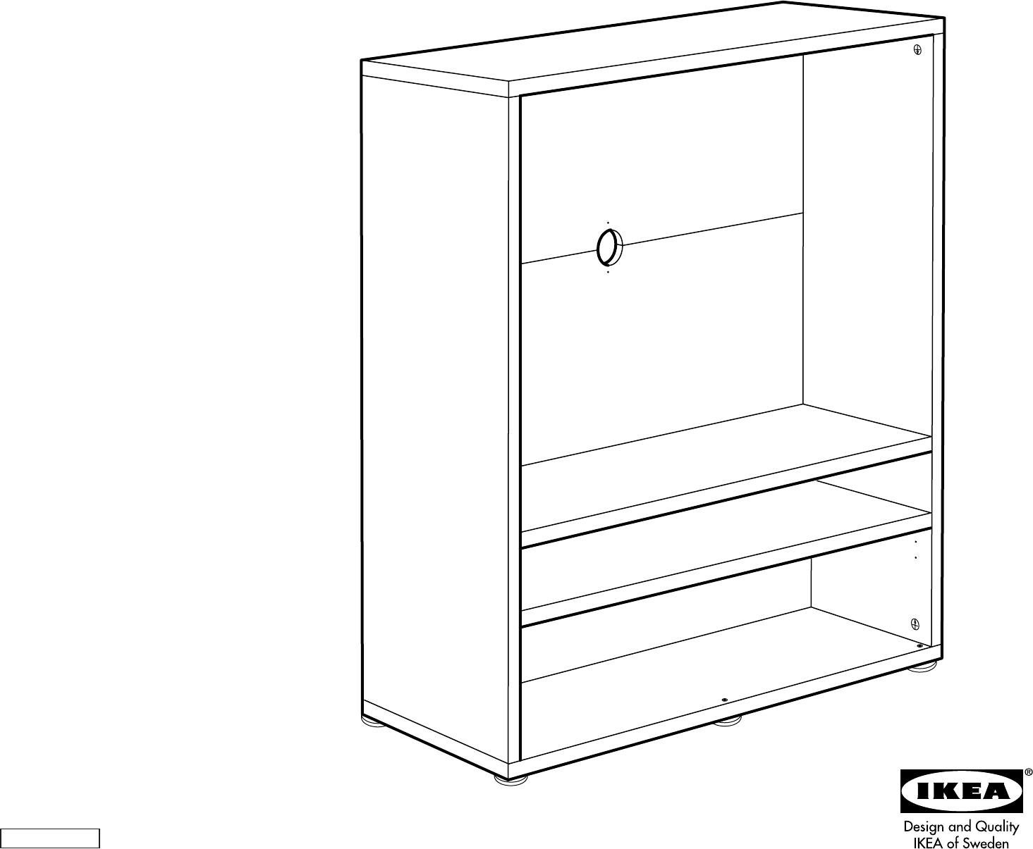 Handleiding Ikea Besta Enon TV kast (pagina 1 van 10) (Dansk, Deutsch ...