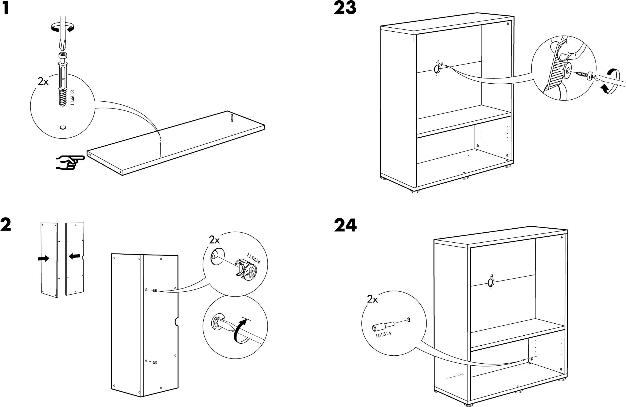 Aspelund Ikea Kast Handleiding ~ Handleiding Ikea Besta Enon TV kast (pagina 4 van 10) (0,68 mb Dansk