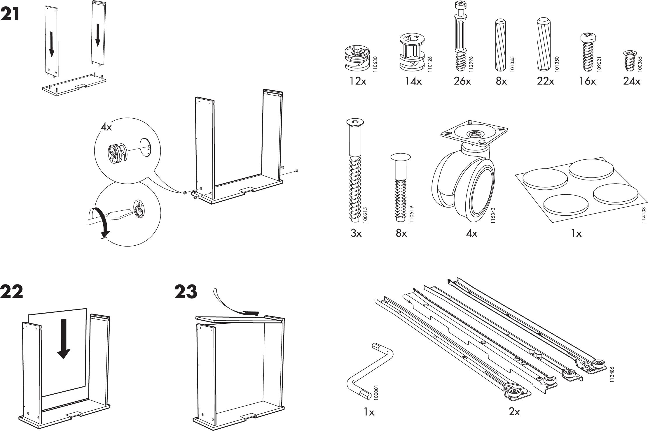 Handleiding Ikea Besta Jagra Tv Meubel Pagina 3 Van 8