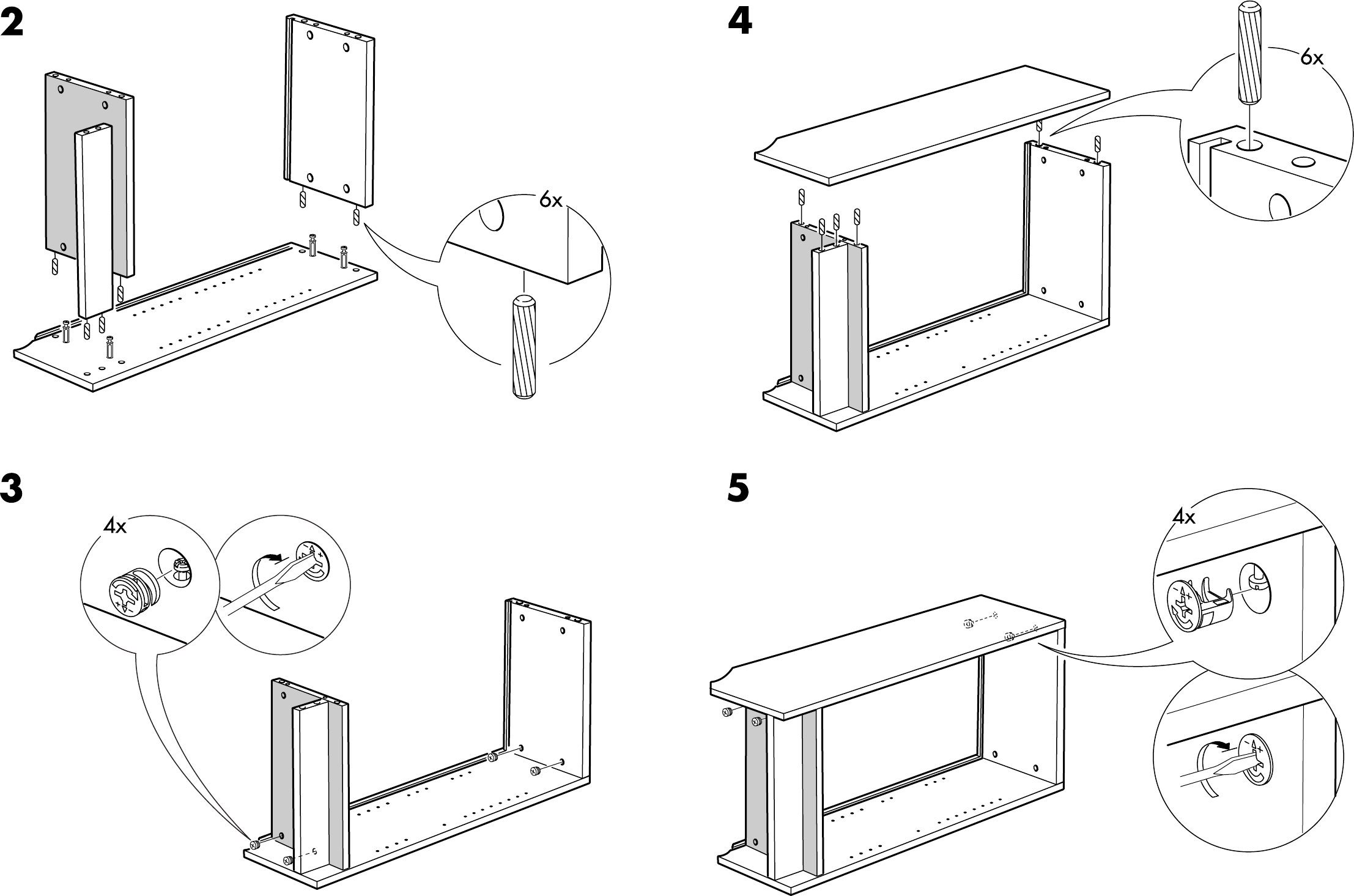 handleiding ikea billy boekenkast pagina 4 van 4 dansk deutsch english espan l fran ais. Black Bedroom Furniture Sets. Home Design Ideas