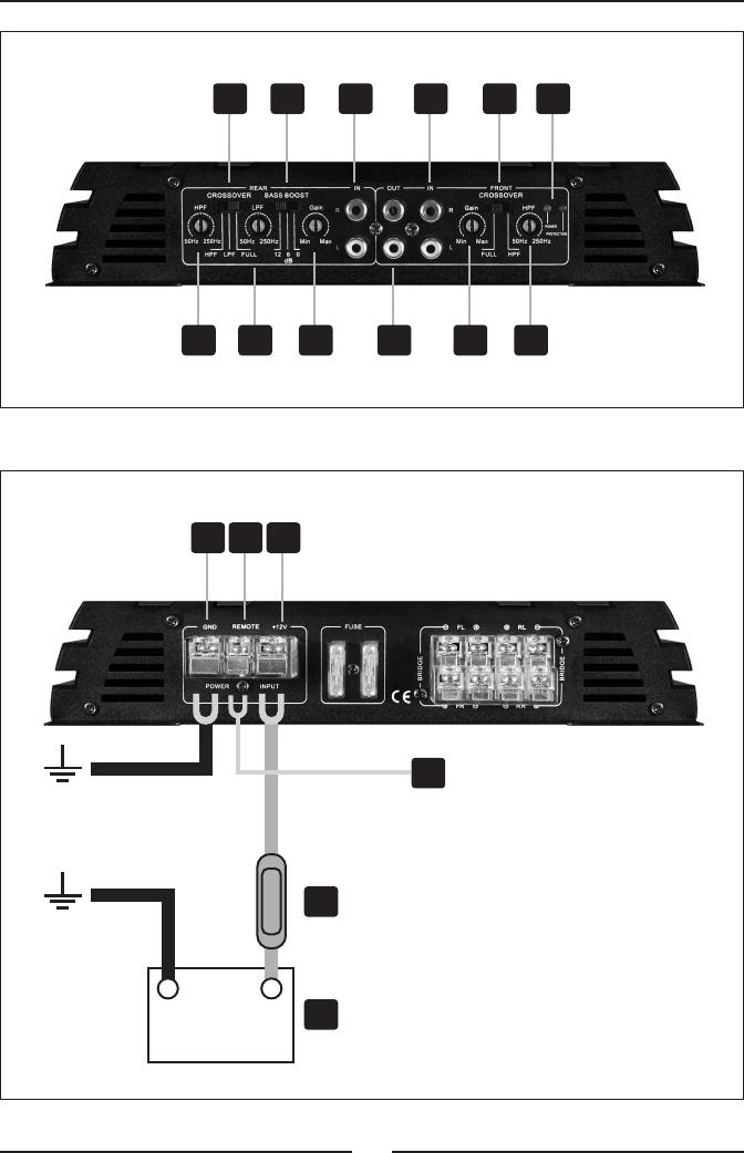 handleiding crunch gpx 1000 4 pagina 28 van 32 deutsch. Black Bedroom Furniture Sets. Home Design Ideas
